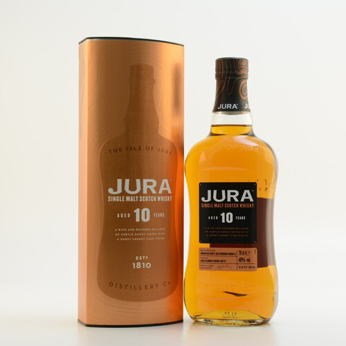 Jura 10 Jahre Single Malt Scotch Whisky 40% 0,7l