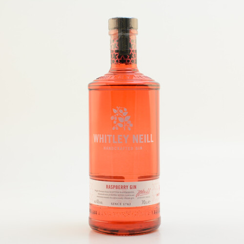 Whitley Neill Handcrafted Raspberry Gin 43% 0,7l