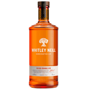 Whitley Neill Handcrafted Blood Orange Gin 43% 0,7l