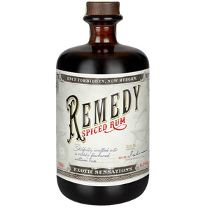 Remedy Spiced (Rum Basis) 41,5% 0,5l + 1x Fever Tree Ginger Beer 0,5l
