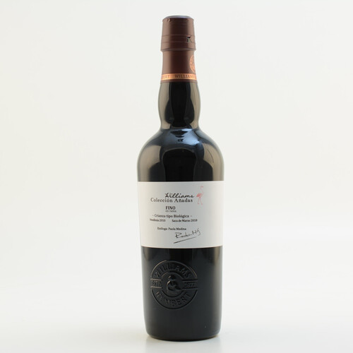 Williams Colleccion Anadas Fino en Rama Sherry 15% 0,5l