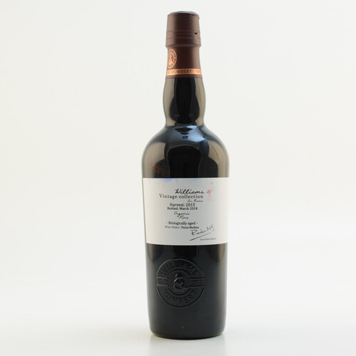 Williams Vintage Collection Fino en Rama 2015 Sherry 15% 0,5l