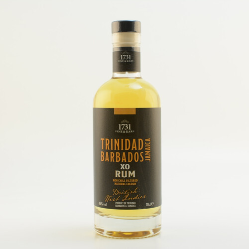 1731 Fine & Rare British West Indies XO Rum 46% 0,7l