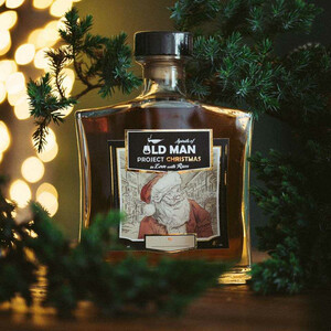 """Rum Project Christmas"" in Love with Rum by Spirits of Old Man 40% 0,7l"
