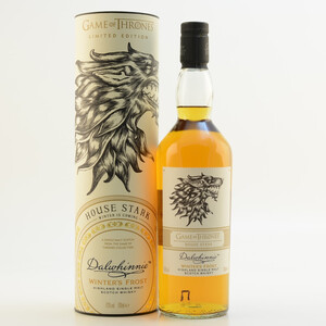 GoT House Stark Whisky Dalwhinnie Winters Frost 43% 0,7l