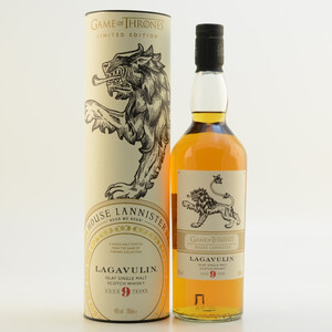 GoT House Lannister Whisky Lagavulin 9 Jahre 46% 0,7l
