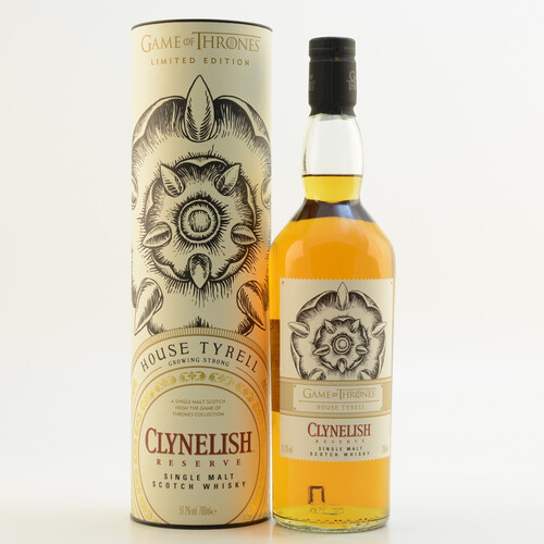 GoT House Tyrell Whisky Clynelish Reserve 51,2% 0,7l