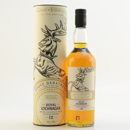 GoT House Baratheon Whisky Royal Lochnagar 12 Jahre 40% 0,7l