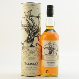 GoT House Greyjoy Whisky Talisker Select Reserve 45,8% 0,7l