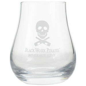 Black Work Pirates Rum Tumbler