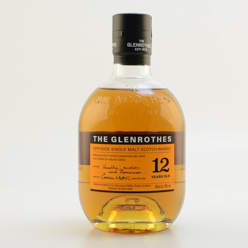 Glenrothes 12 Jahre Speyside Single Malt Whisky 40% 0,7l