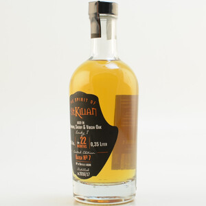 St. Kilian Batch 07 - 22 Monate Double Cask Aged Limited 44% 0,35l